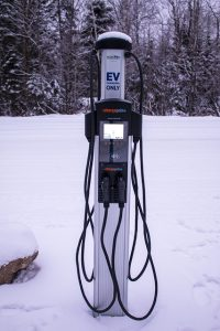 Electric Car Charging Spot