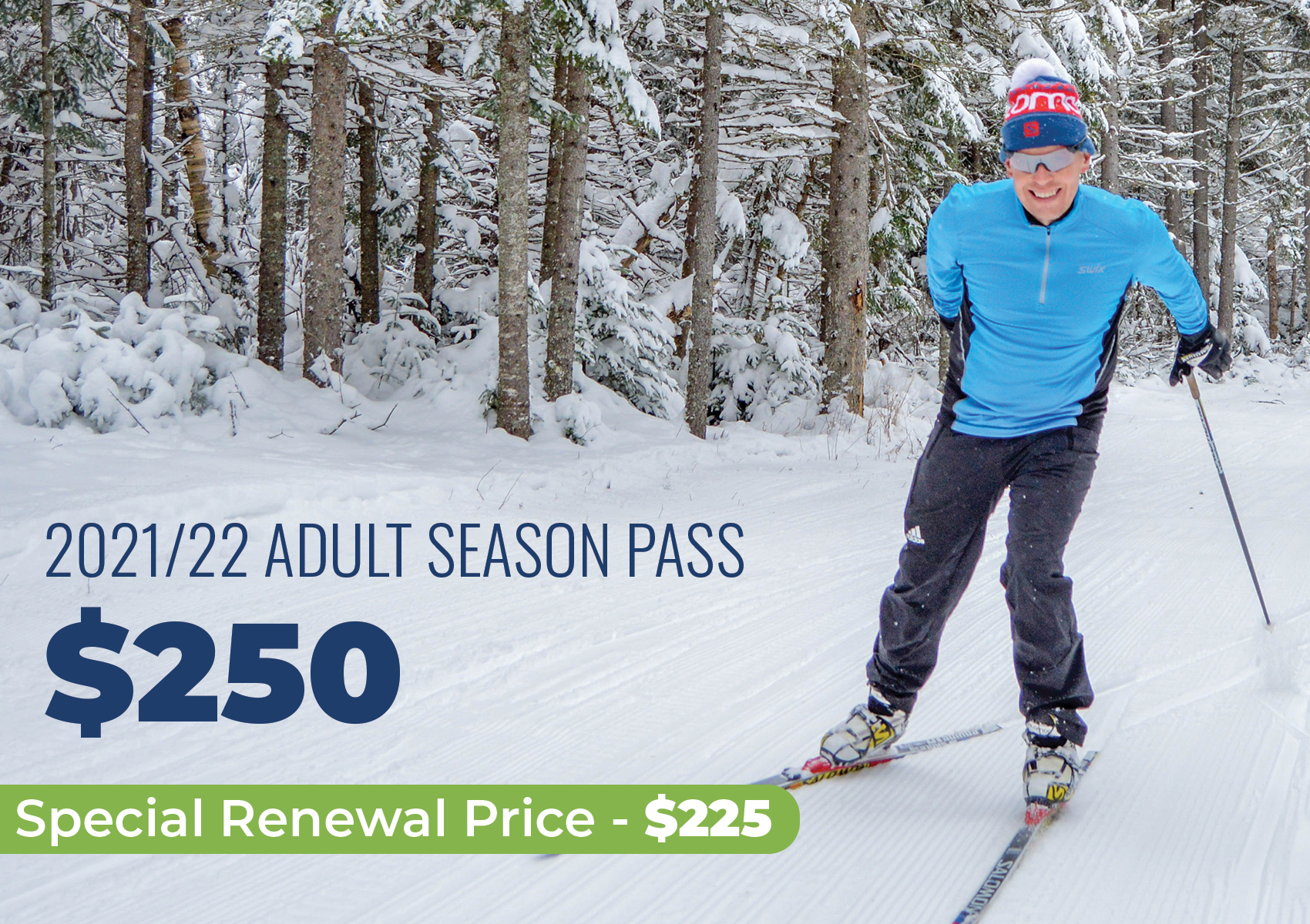 Cross Country Adult Season Pass Pricing