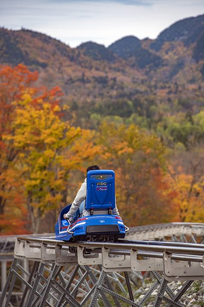 Cliffside Coaster in the Fall